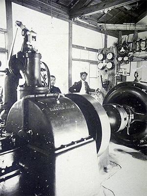 東吉野つくばね発電所の写真1